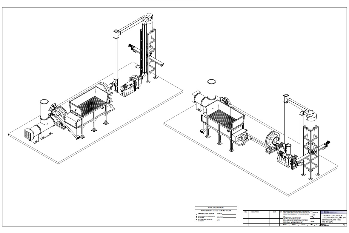 industrial duty equipment drawing