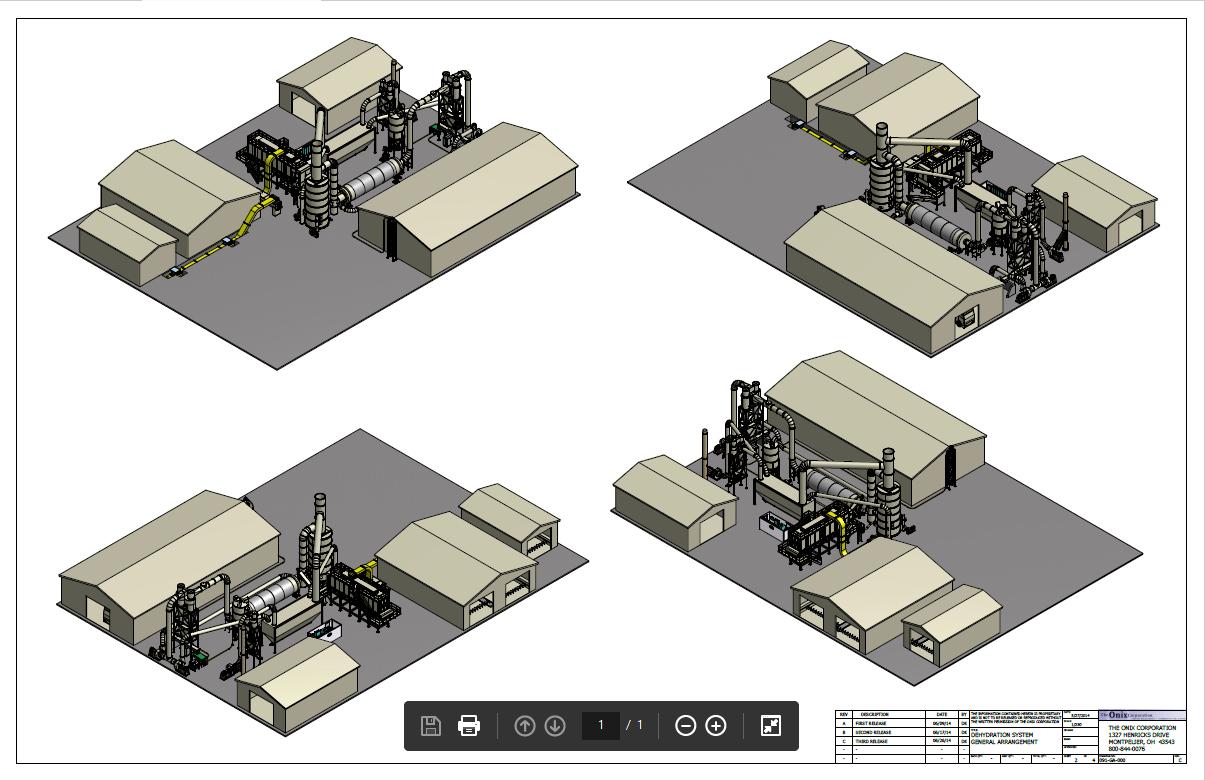industrial duty equipment drawings