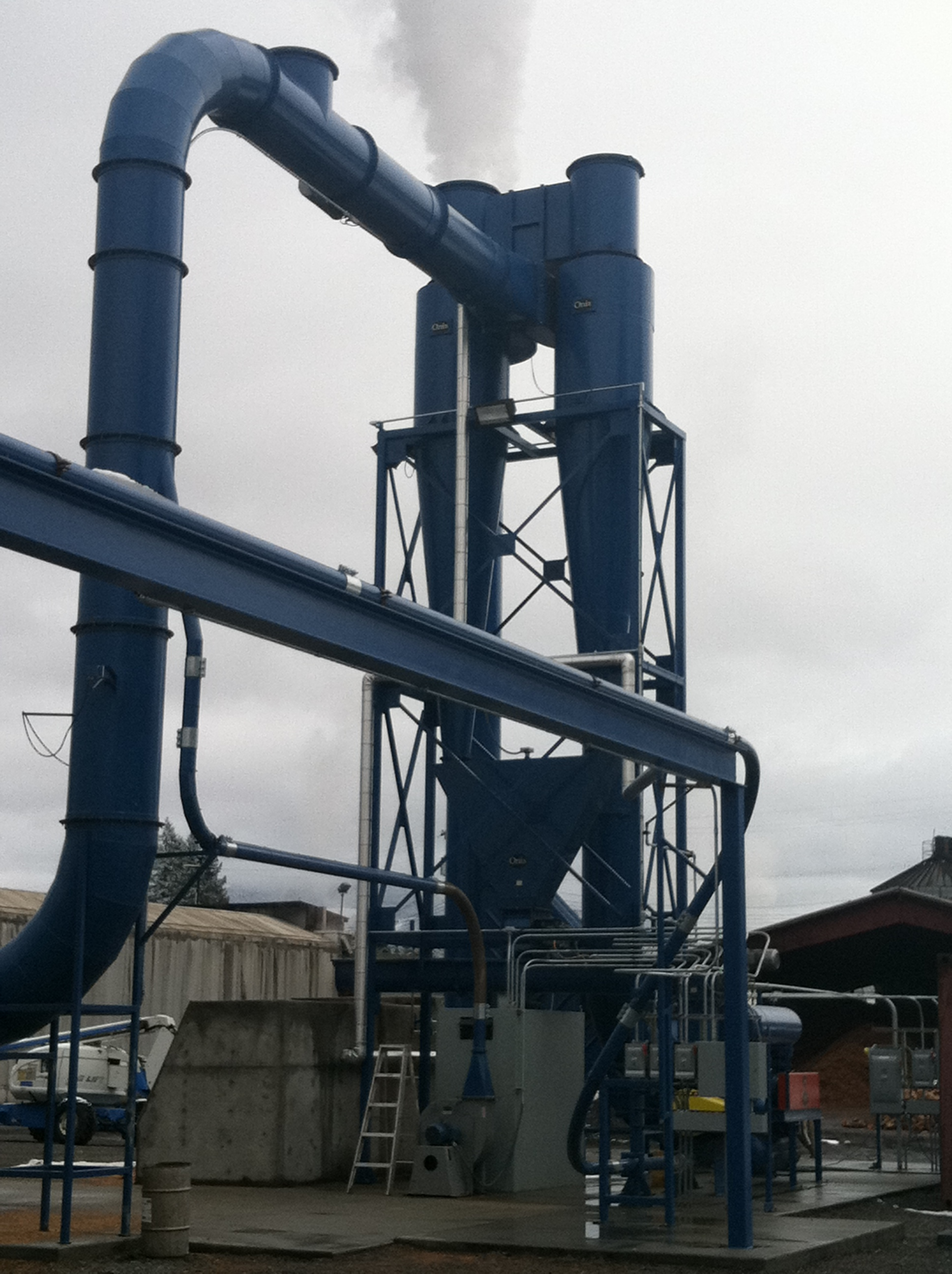 cyclone dust collection system onix