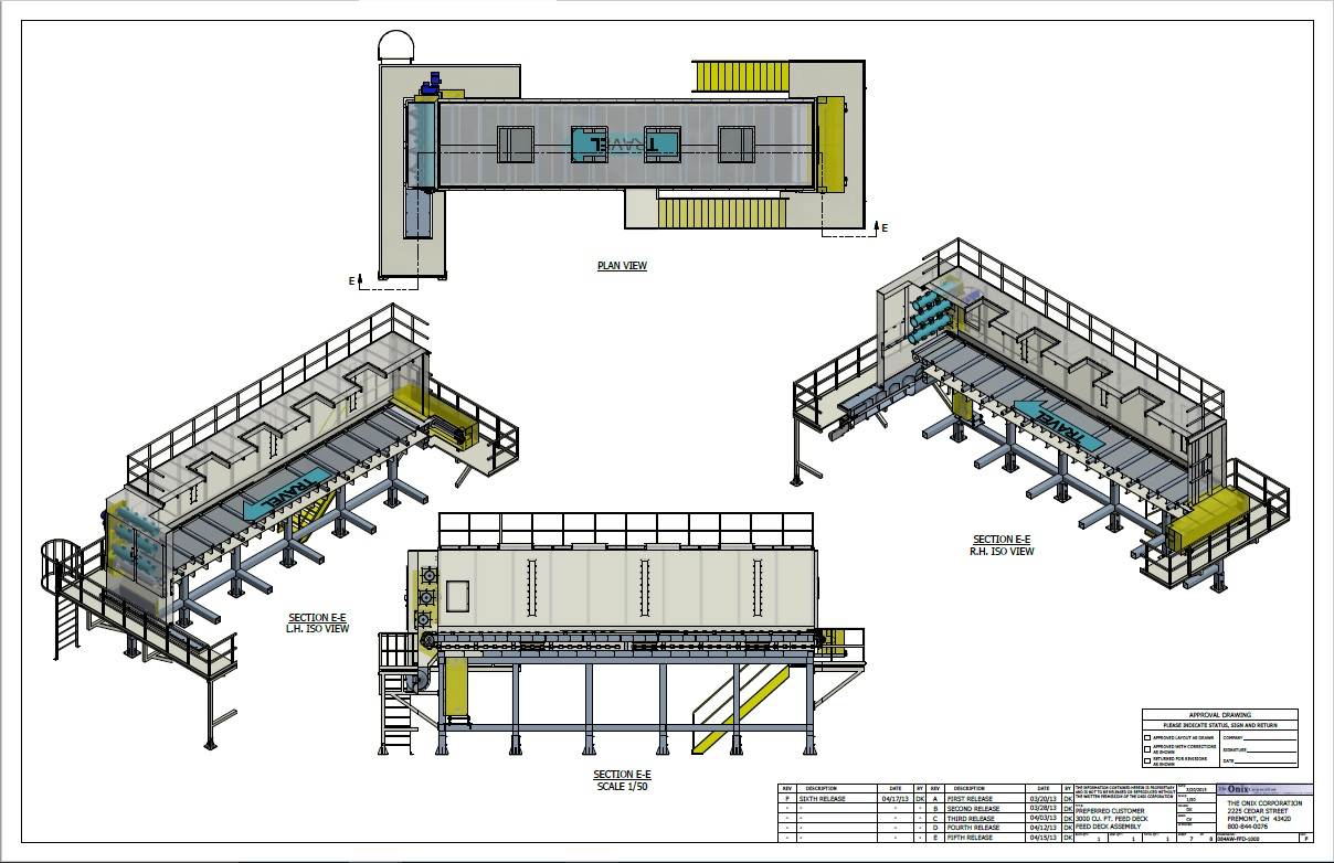 material handling systems diagram onix