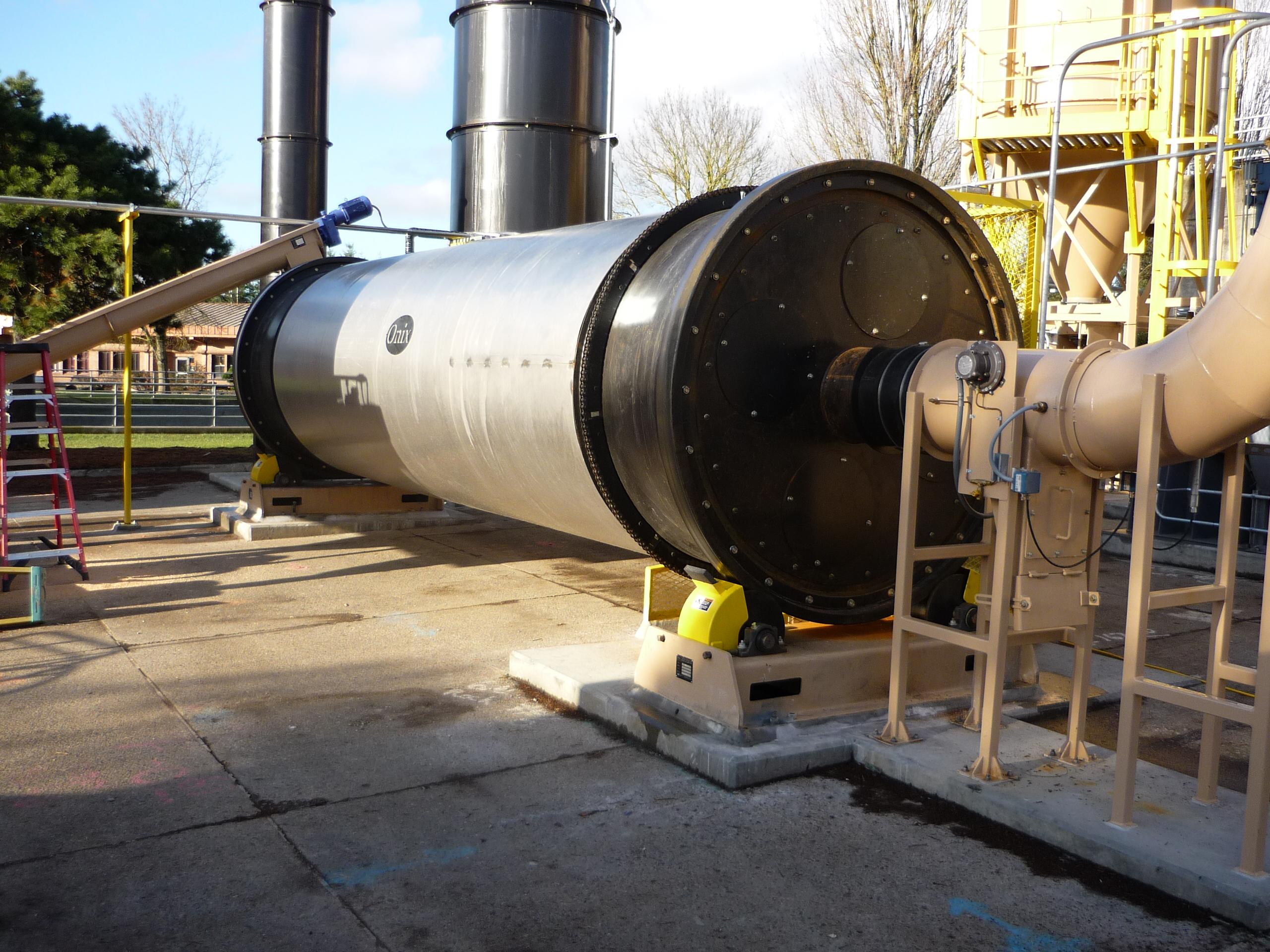 rotary drum dryer onix corporation