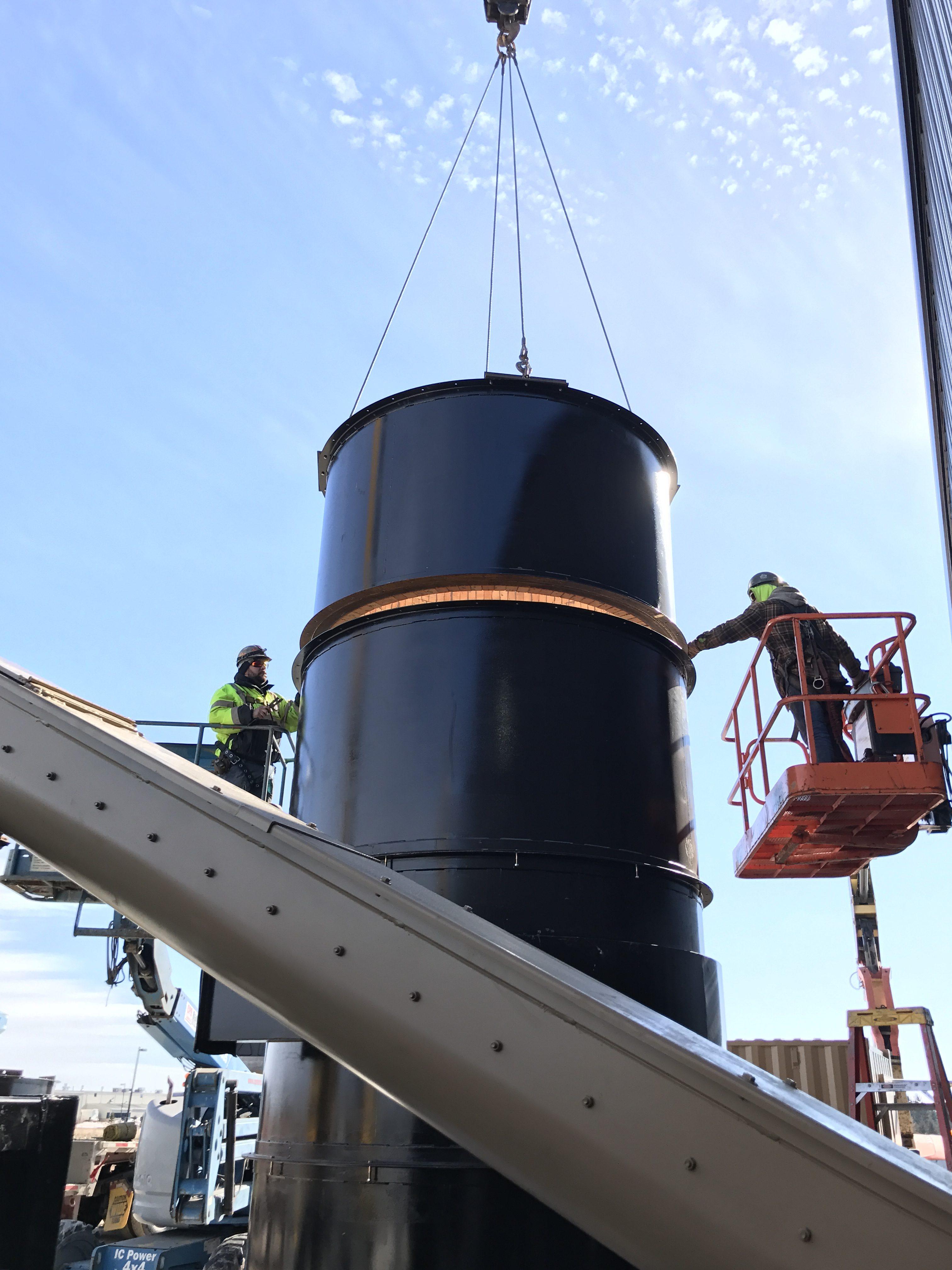 rotary drum dryer installation onix