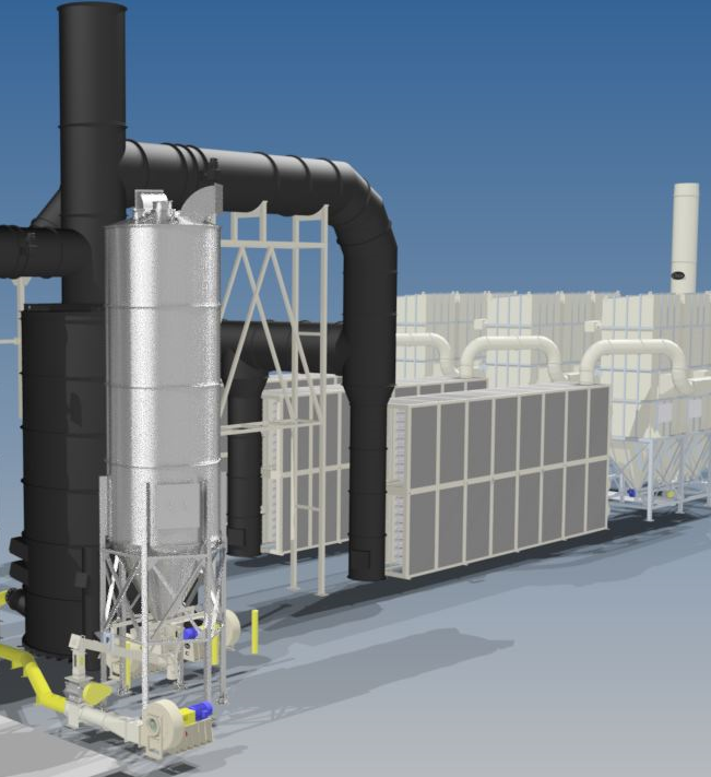 heat exchanger solid fuel burner